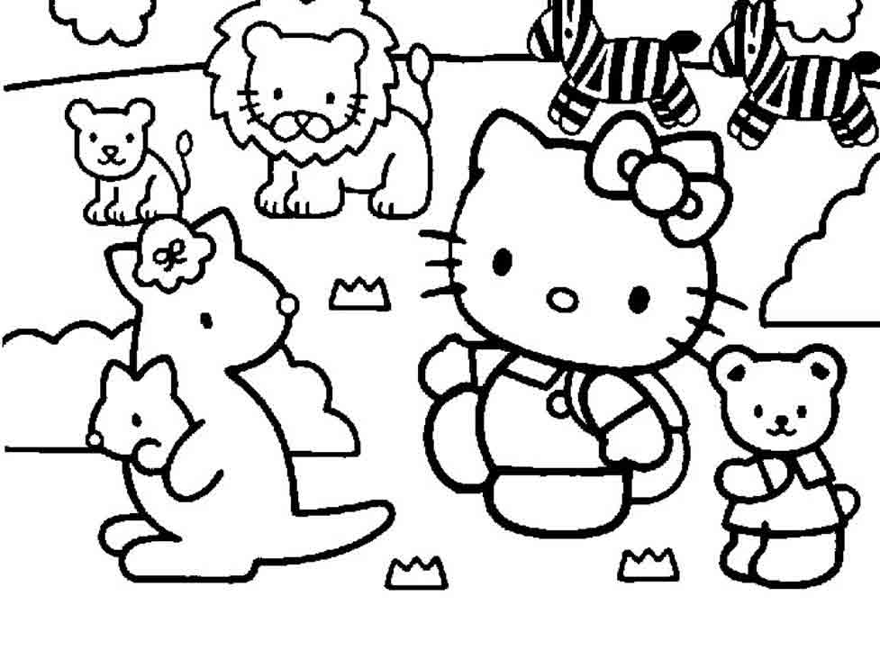 coloriage-elo-kitty