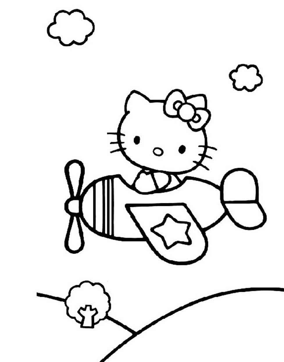 coloriage ello kitty