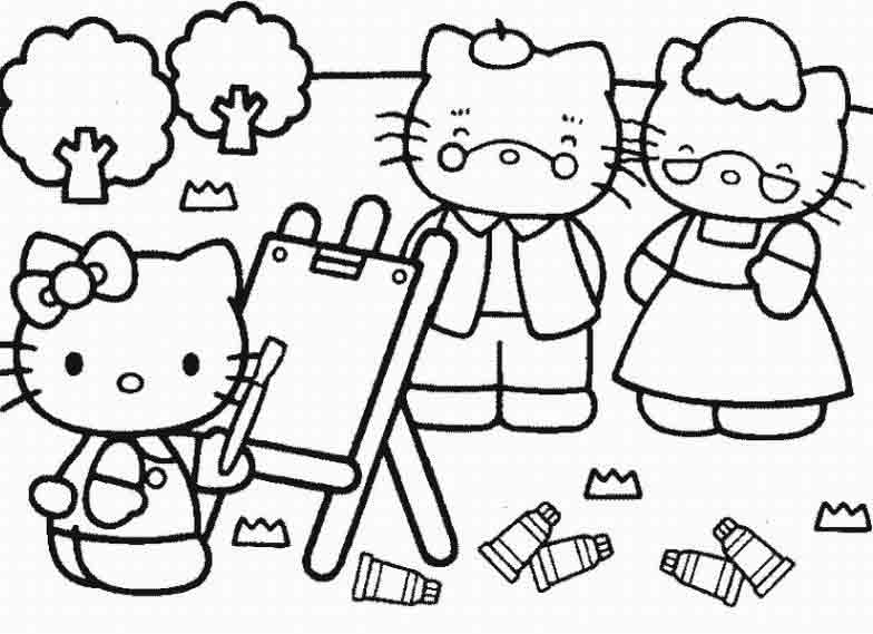 free hello kitty printable
