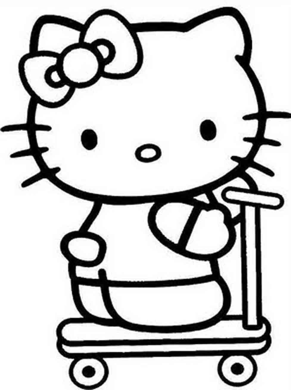 Trottinette roues Hello Kitty La Grande Rcr : vente de jouets et
